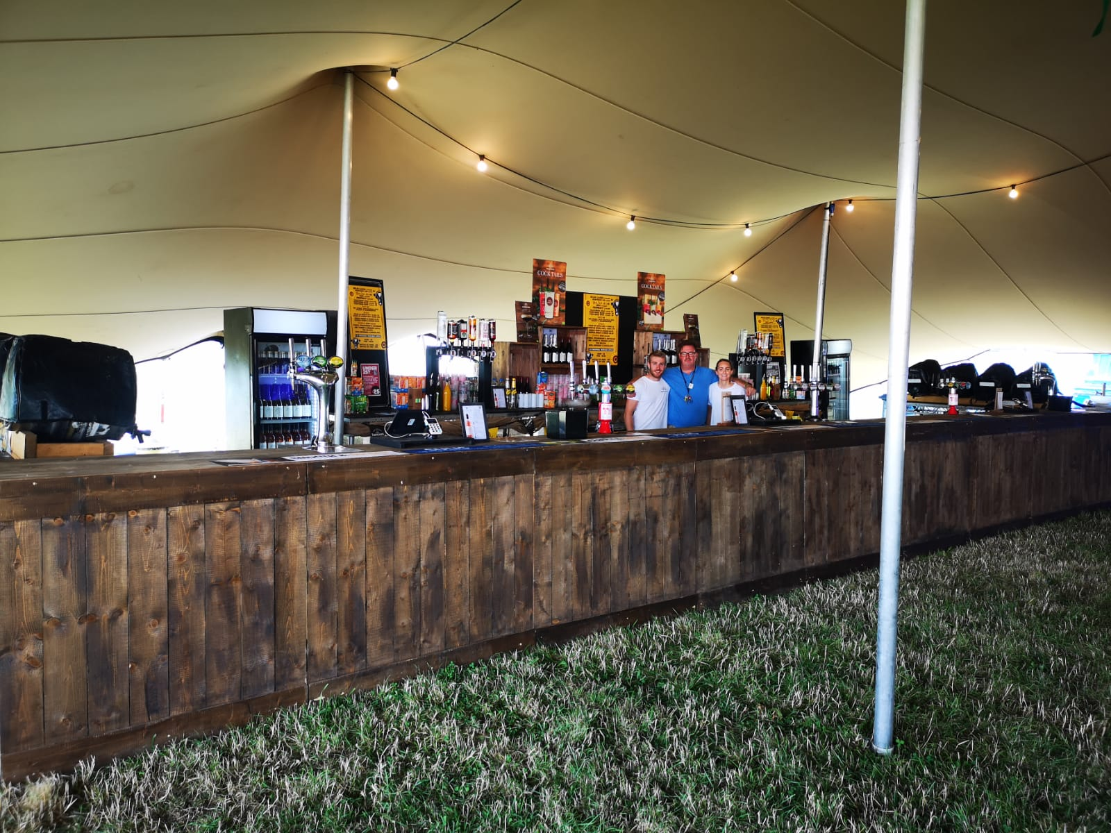 Festival Bar Build and Management