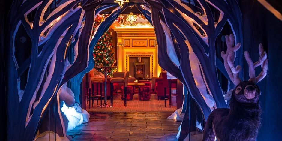 Christmas Winter Walkway