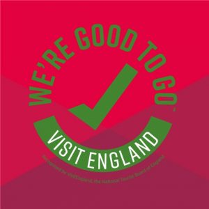 Green Tick - Good To Go Visit England
