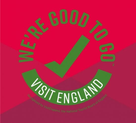 Green Tick - Good To Go Visit England
